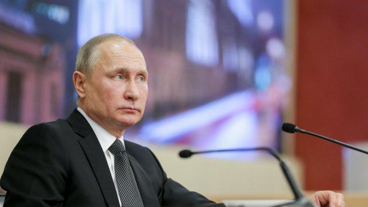 Владимир Путин бір жылда 8,6 млн рубль табыс тапқан