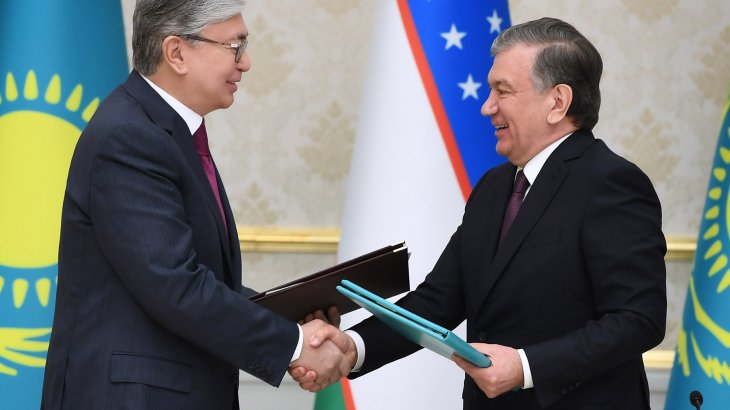 Қазақстан мен Өзбекстан Президенттері БАҚ өкілдерімен кездесті