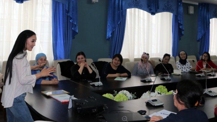Қарағанды облыстық Ассамблеясы көпбалалы аналарға арнап тренинг мотивация өткізді