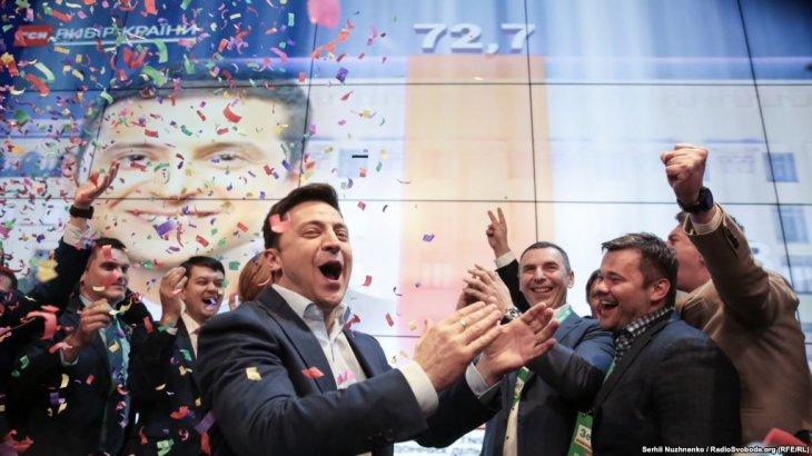 Зеленский президенттік сайлауда жеңіске жетті