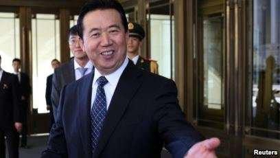 Қытай прокуратурасы Интерполдың бұрынғы басшысын қамауға алды