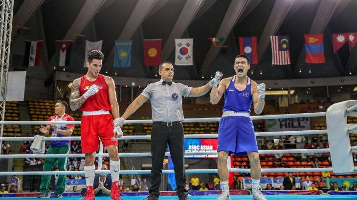 Бек Нұрмағамбет Азия чемпионатында бокстан топ жарды