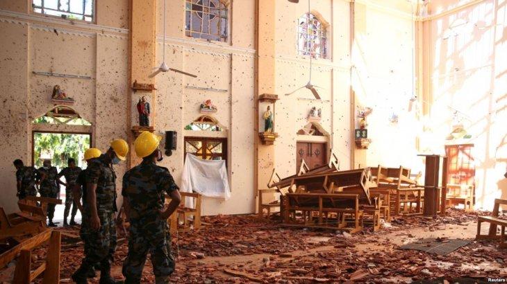 Шри-Ланкада жарылыс ұйымдастырған күдіктілер ұсталды
