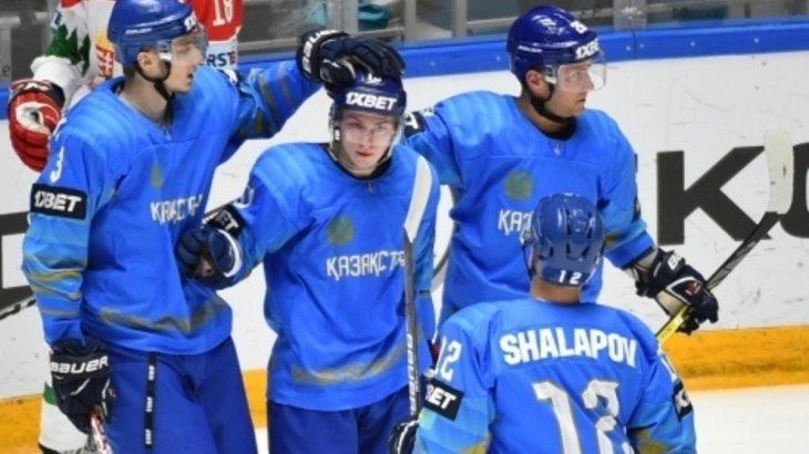Хоккейден Қазақстан ұлттық құрамасы әлем чемпионатының бірінші дивизионының чемпионы