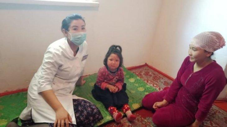Түркістан облысында 3 жасар қыз 15 таблетка дәріні ішіп қойған