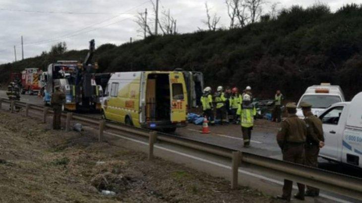 Чилиде автобус аударылып, 6 адам қаза тапты