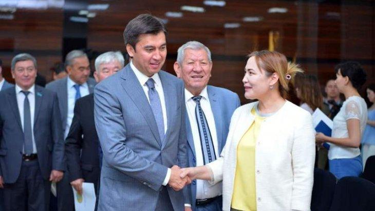 Шымкенттік журналист Сенат депутаттығына кандидат ретінде ұсынылды