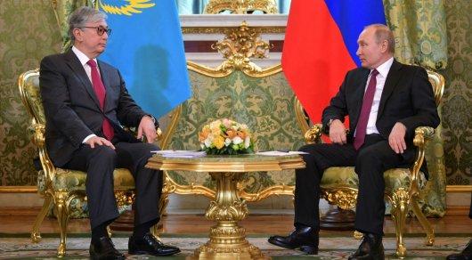 Путин Тоқаевты туған күнімен құттықтады