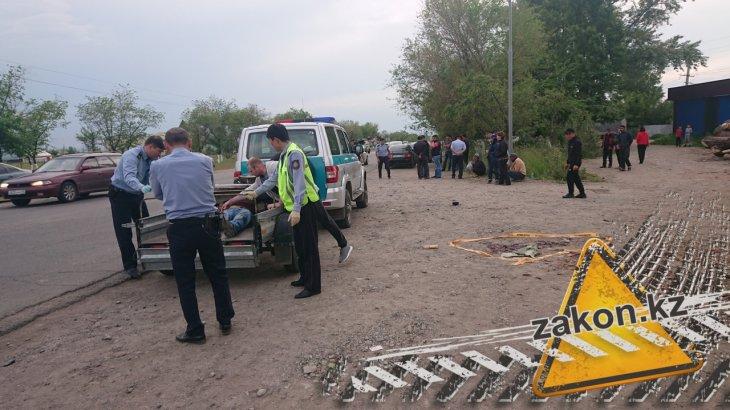 Алматы облысында жантүршігерлік жол апаты болды