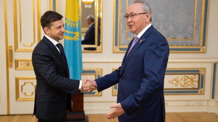 Бектас Бекназаров Украина Президенті Владимир Зеленскиймен кездесті