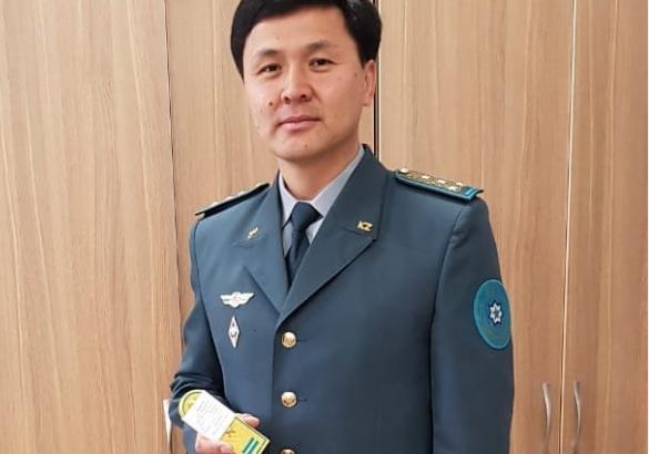 Досымжан Таңатаров жаңа әскери шен алды