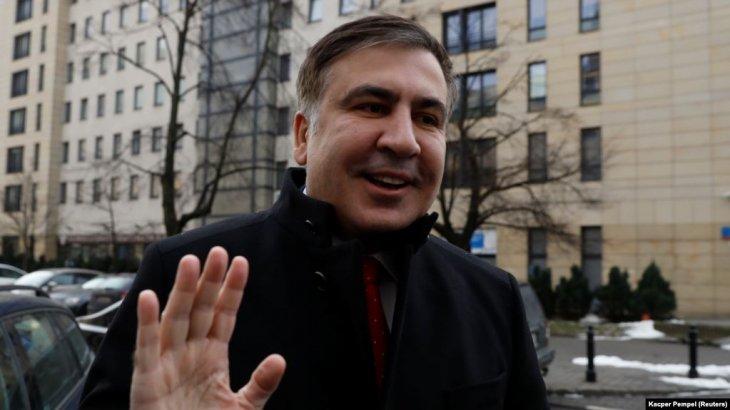 Саакашвили Владимир Зеленскийден өзіне Украина азаматтығын қайтарып беруді сұрады