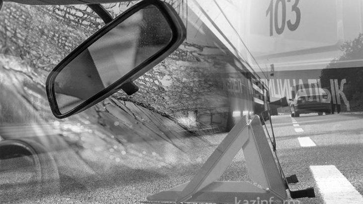 Қызылордада 15 жастағы жасөспірім жүргізген көлік апатқа ұшырады
