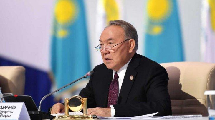 Назарбаевқа «құрметті сенатор» атағы берілді