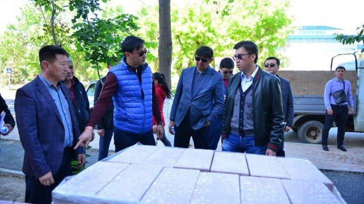 Ғабидолла Әбдірахымов Ахмет Байтұрсынов көшесіндегі құрылыс жұмыстарымен танысты