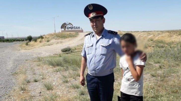 Түркістан облысында жоғалып кеткен 14 жастағы қыз табылды