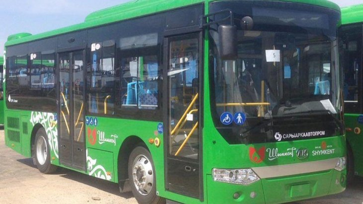 Шымкент қаласындағы «Тұран» және «Асар» шағынаудандарына жаңа автобустар жүре бастайды