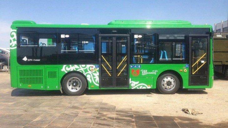 Шымкентке жаңа автобустардың алғашқы легі жеткізіле бастады