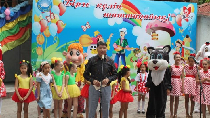 Шымкент қалалық Қазақстан халқы ассамблеясы балаларға мереке ұйымдастырды