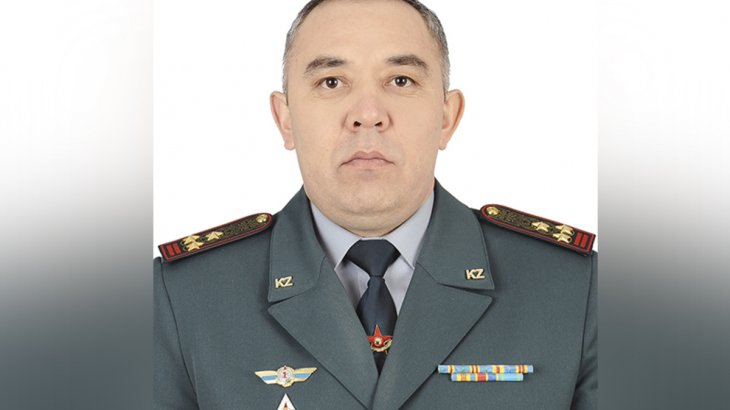 Шымкент қалалық қорғаныс істері департаментіне жаңа басшы тағайындалды