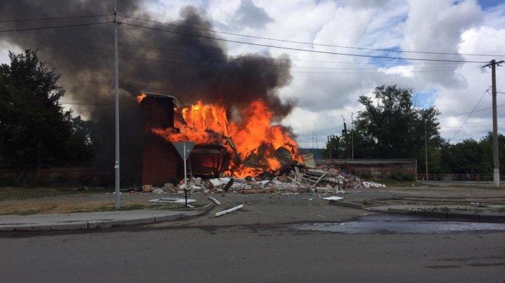 Қостанайда жарылыстан 7 адам зардап шекті (ФОТО)