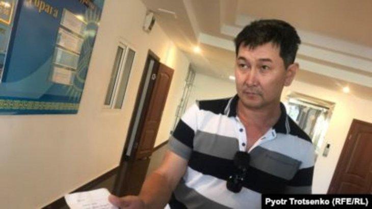Орал соты журналист Аxмедияровқа айыппұл салды