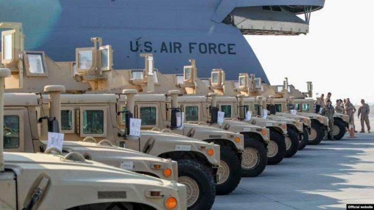 Украина АҚШ-тан 250 млн доллардың әскери көмегін алады