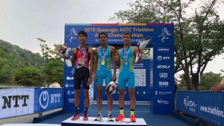 Қазақстандық спортшы триатлоннан Азия чемпионы атанды