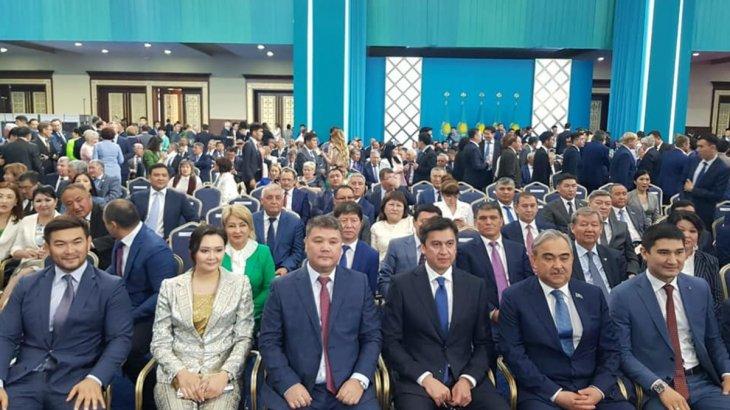 Шымкенттік делегация ҚР Президентінің ұлықтау рәсіміне қатысты
