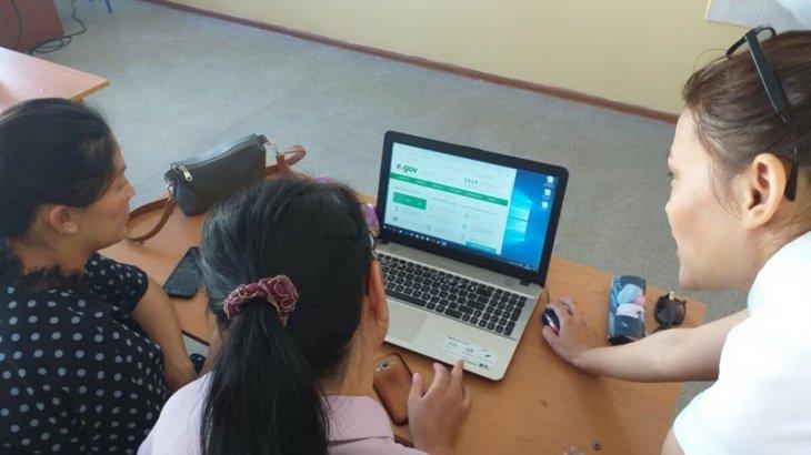 Шымкент қаласында цифрлық сауаттылықты арттыру бойынша жұмыс жүргізіліп жатыр