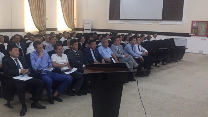 Шымкент қаласының ауыл шаруашылығы және ветеринария басқармасы бейнеконференциялық байланыс арқылы министрдің есебіне қатысты