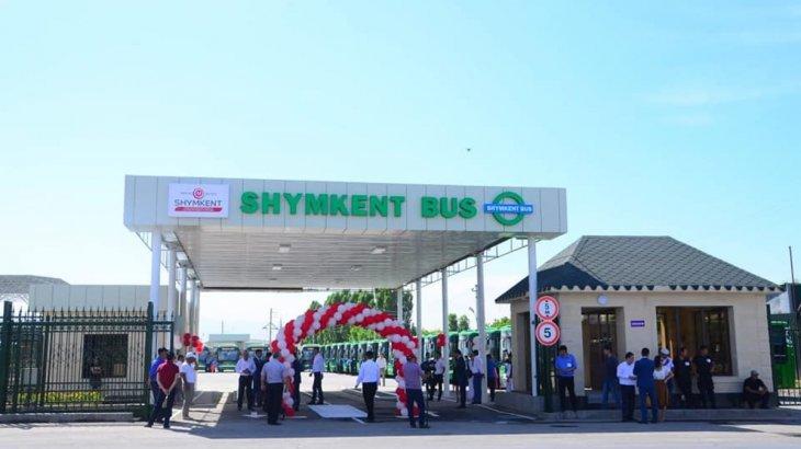 Шымкентте Қала күніне орай муниципальды автобус паркі ашылды