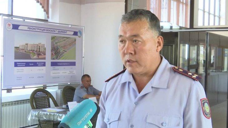 Шымкент: полицейлер теміржол вокзалында ашық есік күнін өткізді