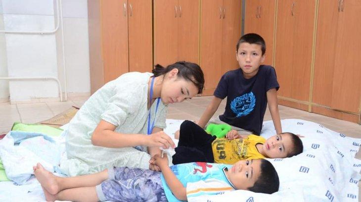 Шымкент қаласындағы арнайы 15 эвакуациялық жинақтау пунктінде жағдай бірқалыпты