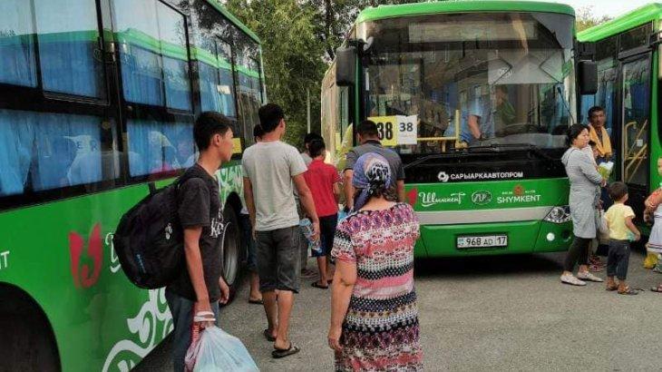 Шымкенттен арыстықтарды тасымалдайтын автобустарға тегін жанар-жағар май босатылып жатыр