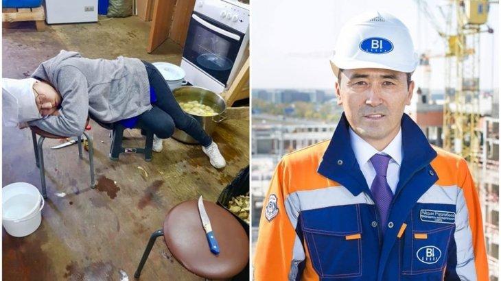 «Жұмысқа жегу керек»: Айдын Рахымбаевтың 14 жастағы қызы ыдыс жуушы боп жұмыс істеп жүр