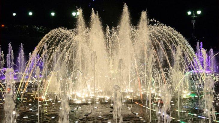 Павлодарда 37 жастағы ер адам фонтанға шомылған