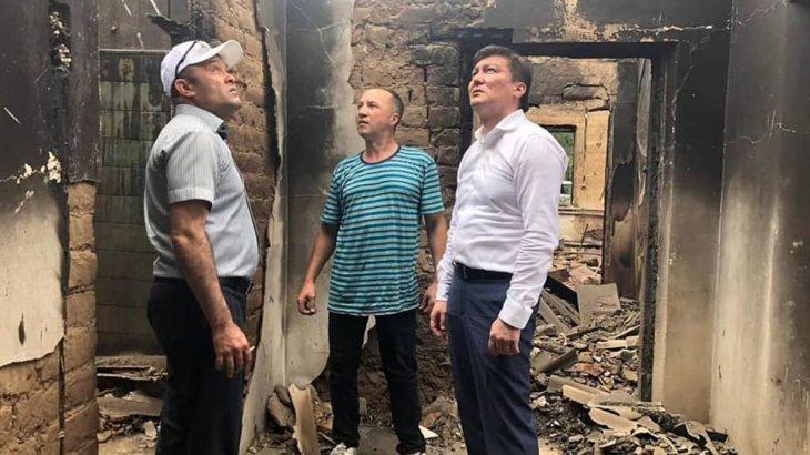 Шымкент қаласының әкімдігі Арыстағы үйлерді қалпына келтіру жұмыстарын бастады