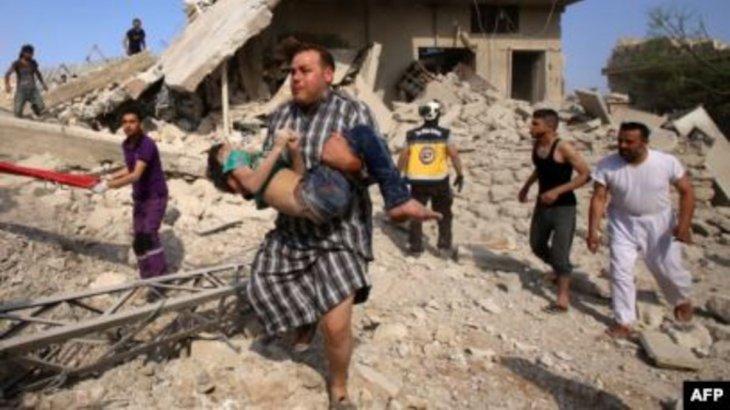 Идлибте Сирия мен Ресей әскерилерінің шабуылынан 500 адам қаза тапты