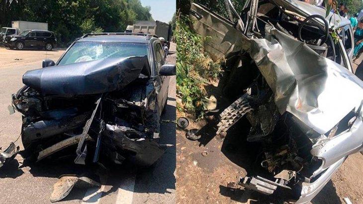 Алматы облысында жол апатынан 3 адам қайтыс болды