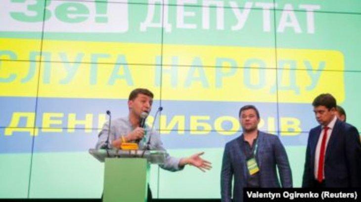 Украинадағы президент сайлауына байланысты экзит-полл қорытындысы жарияланды
