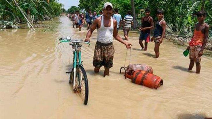 Үндістандағы су тасқыны: 116 адам қайтыс болды