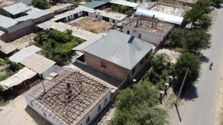 Арыс қаласында 1870 үйдің жөндеу жұмысы аяқталды