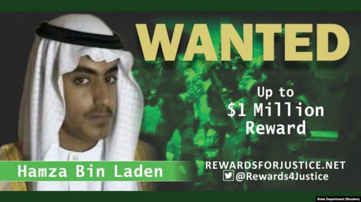 «Әл-Қаида» террористік ұйымының негізін қалаған Усама бен Ладеннің ұлы мерт болды
