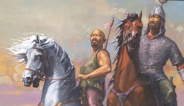 Мәйкішең Махамбет: суретші батырды неге осы кейіпте танығысы келді?