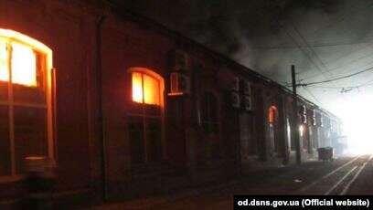 Украинада қонақүй өртеніп, 8 адам мерт болды