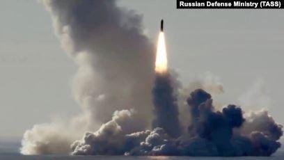 Ресей қорғаныс министрлігі баллистикалық ракеталарын сынақтан өткізді