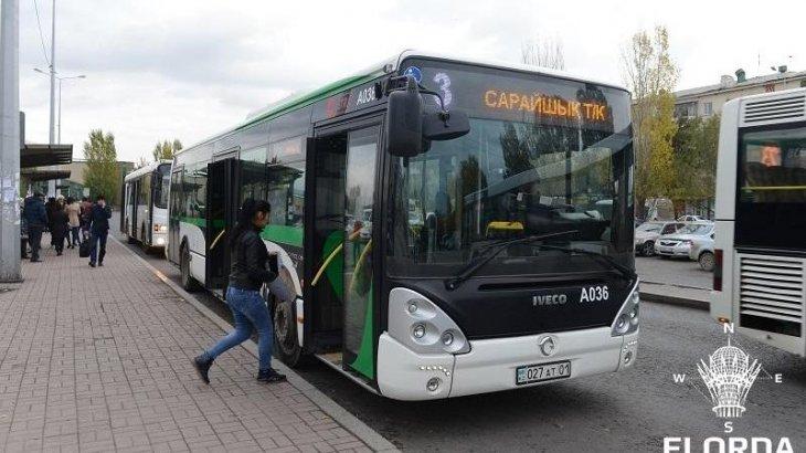 Елордада 8 қыркүйек күні 55 автобустың қозғалысы өзгереді
