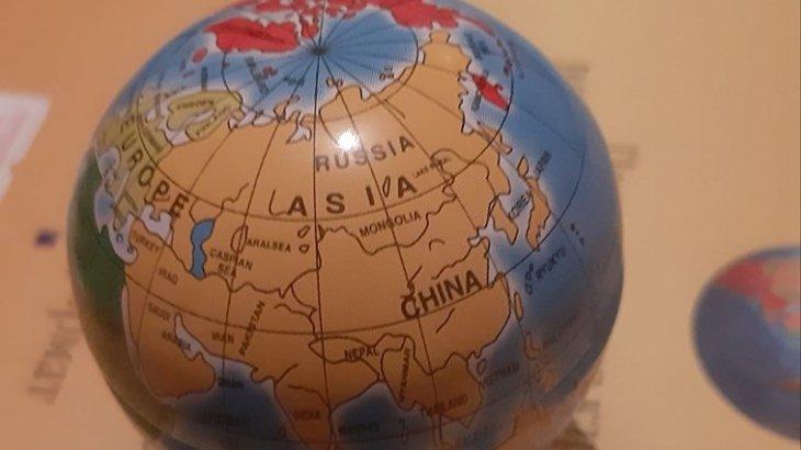 Қытай жасаған картада Қазақстан жоқ