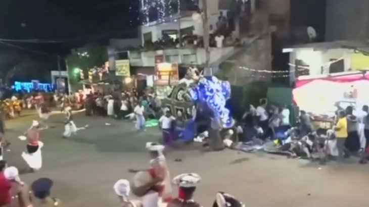 Шри-Ланкада діни фестиваль кезінде 2 піл адамдарға шабуылдады